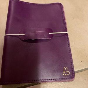 EUC Foxy Fix purple B6 Single Travelers Notebook